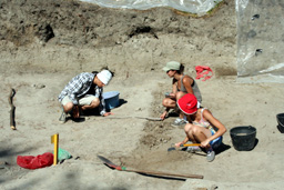 Археолози откриха камък с името на строител на двореца във Велики Преслав