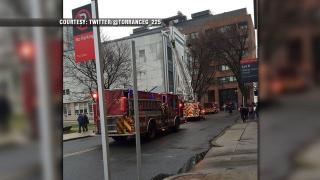 Шестима ранени при пожар в Бостънския университет