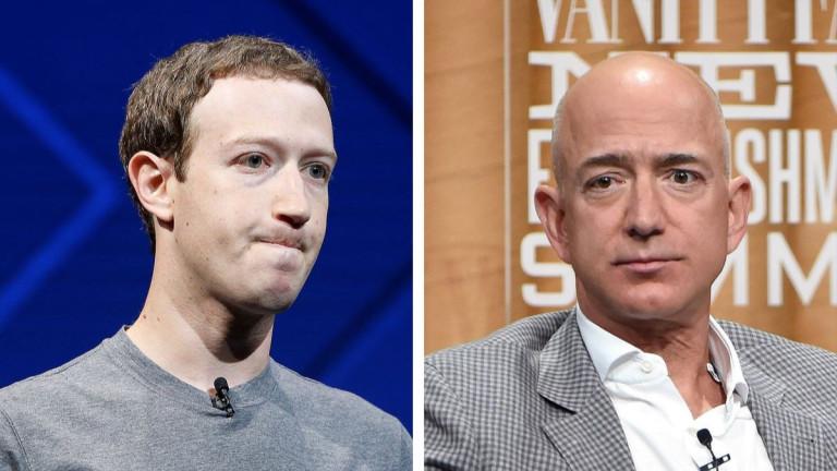 Технологичните милиардери изгубиха $33 милиарда след тежък спад на Уолстрийт