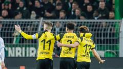 Борусия (Дортмунд) ще зимува на върха в Бундеслигата