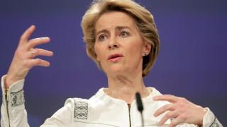 Урсула фон дер Лайен призна: ЕС няма да отделя достатъчно за отбрана до 2027-а