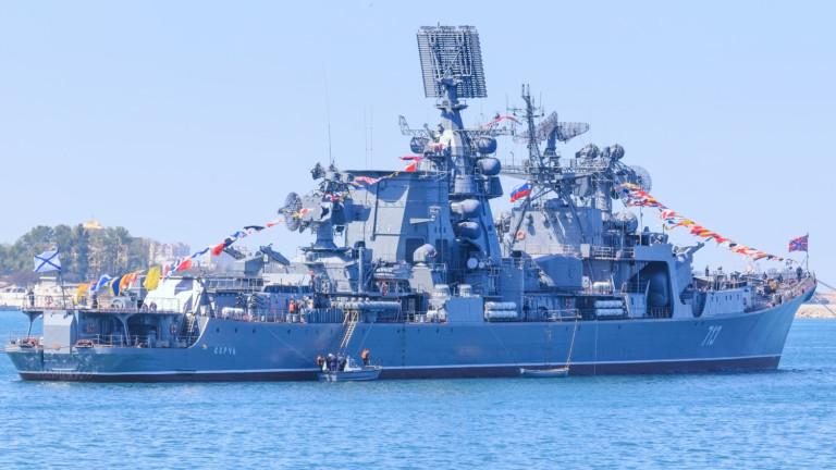 Ракетен крайцер на руския северен флот