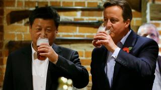 Китайска компания купи бирарията до Лондон, където пиха Камерън и Си Дзинпин