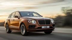 Bentley показа най-бързия SUV автомобили в света (Видео)