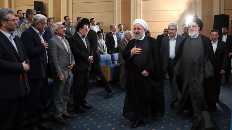 """Иран е готов да преговаря, ако """"врагът се върне към нормалните условия"""""""