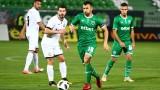 Лудогорец - Славия 0:0, незаслужен червен картон за Стергиакис