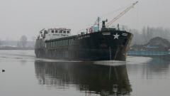 Молдовски кораб задържан на пристанището във Варна