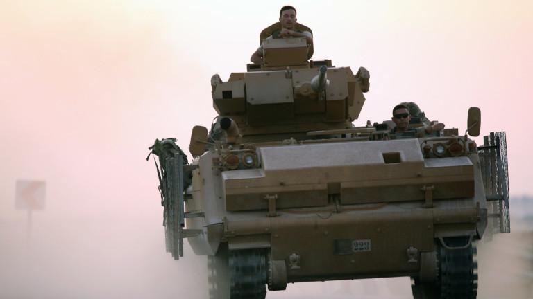 Турски командоси навлязоха във вътрешността наСирияизточно от река Ефрат като