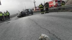 Жестока верижна катастрофа затвори пътя Русе – Варна
