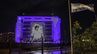 Диего Марадона беше погребан в тесен семеен кръг