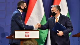 Полша предупреди Меркел за готовността си да наложи вето на евробюджета