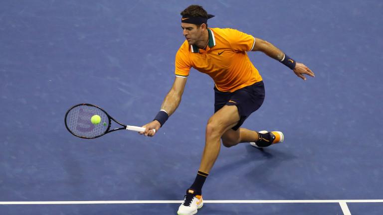 Аржентинецът Хуан Мартин дел Потро е четвъртият тенисист осигурил си