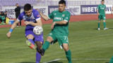 Етър и Ботев (Враца) завършиха 0:0