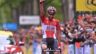 Томас де Хент спечели първия етап от Критериум дьо Дофине