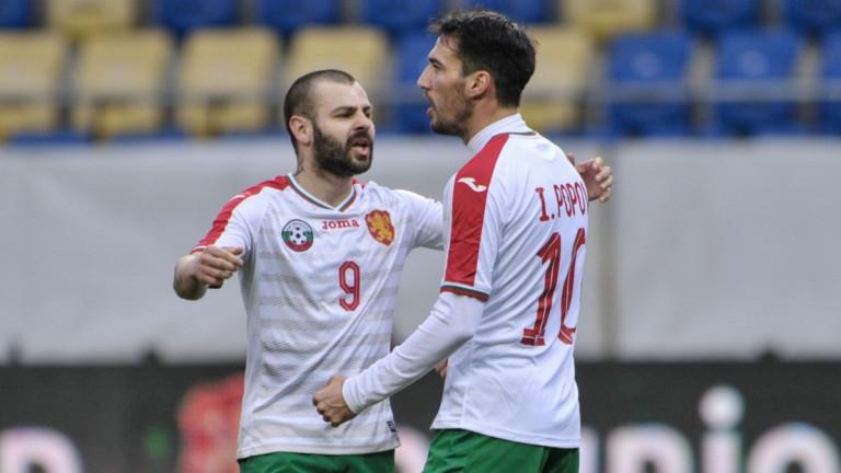 Делев: Щастлив съм, че играя отново за националния отбор