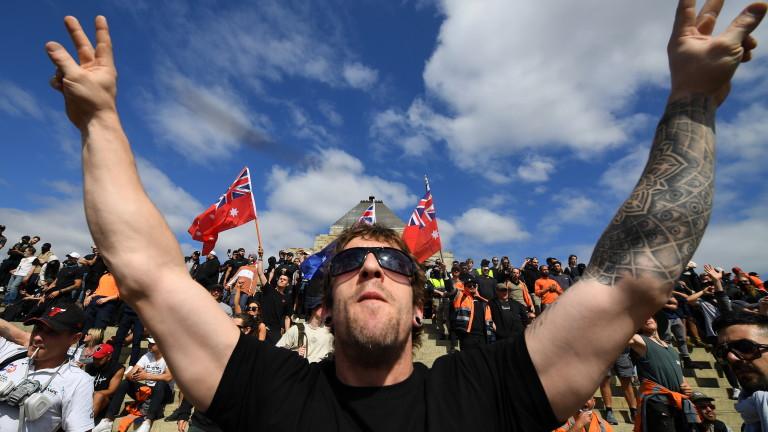 Полицията във втория по големина австралийски град Мелбърн арестува повече