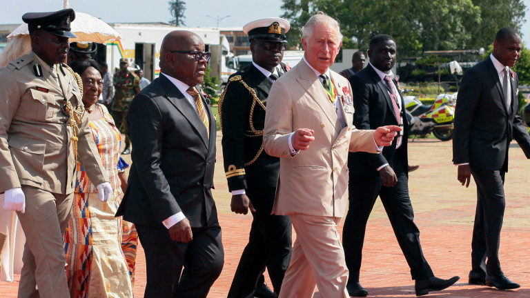 Принц Чарлз призна британската роля в търговията с роби