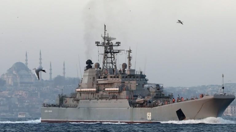 Турските военноморски сили прихванаха и ескортира израелски изследователски кораб извън