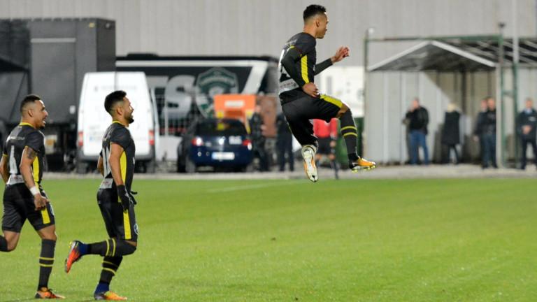 Берое - Лудогорец 0:1, гол на Марселиньо!