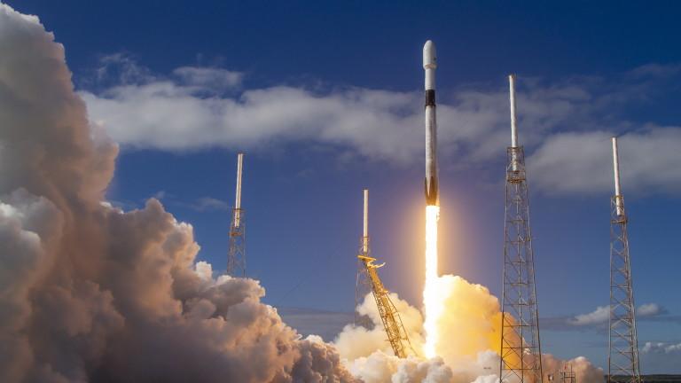 За 77 път SpaceX изстреля ракета Falcon 9