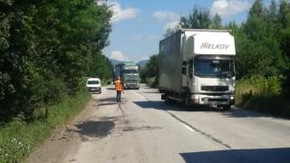 Ремонтират пътя София - Ботевград
