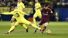 """Барса потопи """"жълтата подводница"""" и отново е на 8 точки пред Реал"""
