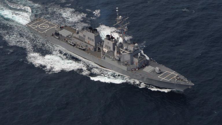 Руснаците следят движението на американски разрушител в Черно море
