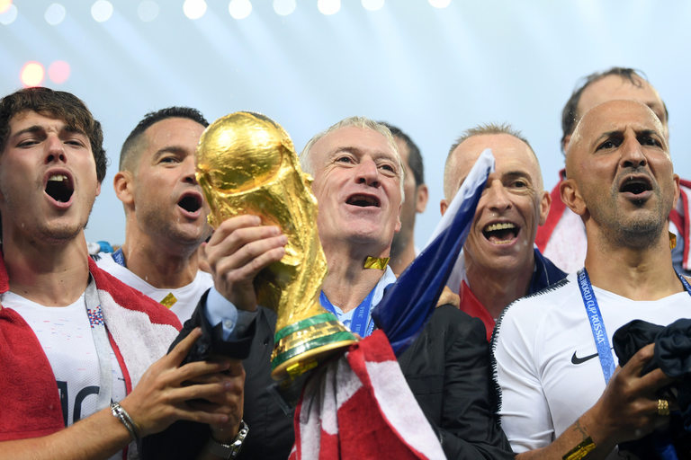 Френският селекционер сподели победата