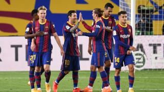 Гризман изведе Барселона към нова победа
