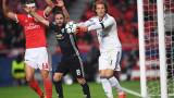 Манчестър Юнайтед победи Бенфика с 1:0 като гост