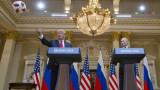 Путин подари футболна топка на Доналд Тръмп