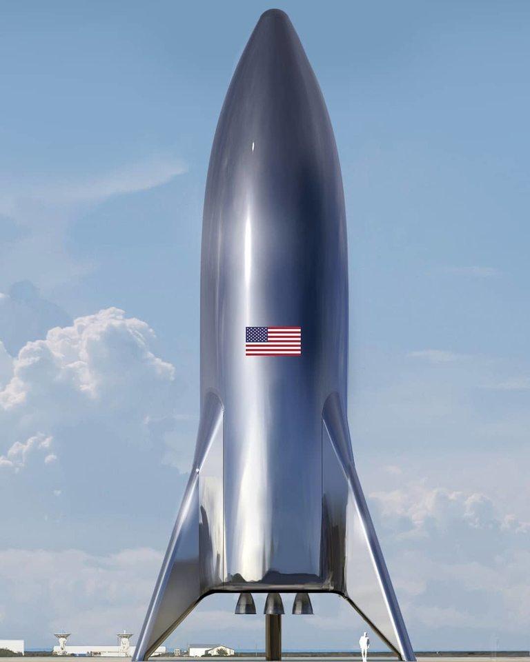 Така ще изглежда ракетата в завършен вид