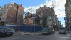 Срути се част от сграда в Шумен