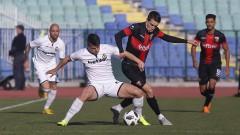 Славия - Локомотив (Пловдив), 1:1 (Развой на срещата по минути)