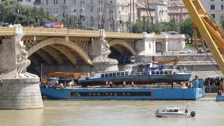 Откриха 25-та жертва на корабокрушението в Будапеща на 100 км от инцидента