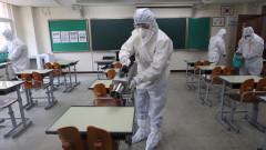 Южна Корея отчете най-голям брой новозаразени с коронавирус от месец