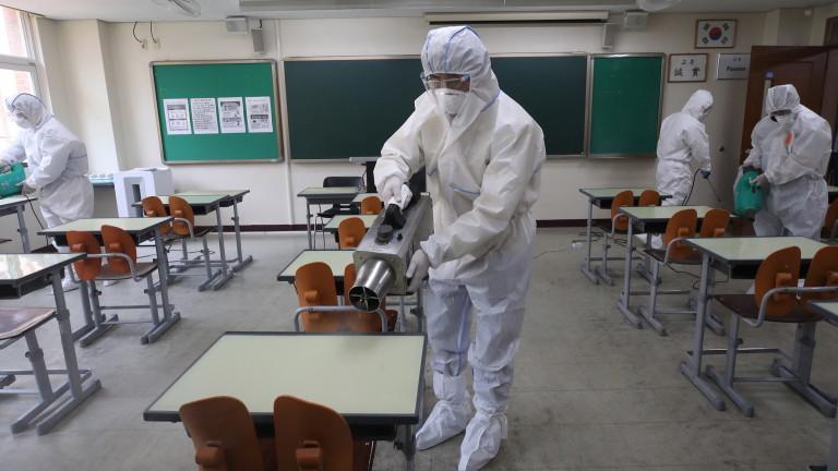 32 новозаразени с коронавируса в Южна Корея, училищата отвориха врати