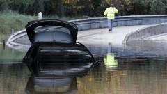 Райони на Франция и Италия засегнати от опустошителна буря