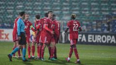 """Това е ЦСКА! """"Армейците"""" разбиха Рома за най-успешното си представяне в групите на Лига Европа!"""