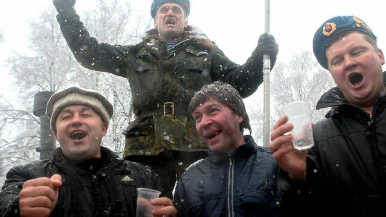Почти половината от проверения алкохол в Русия бил нелегален