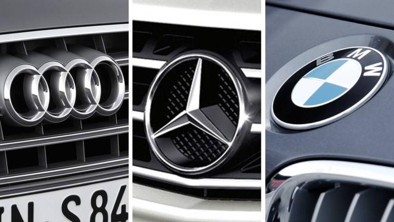 """Кой е най-голям от """"трите големи"""" при луксозните коли?"""