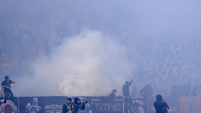 Фенове на Левски: Кюстендилеца има забрана за мачове, но разпява агитката на ЦСКА!