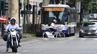 Стачка блокира транспорта в Италия