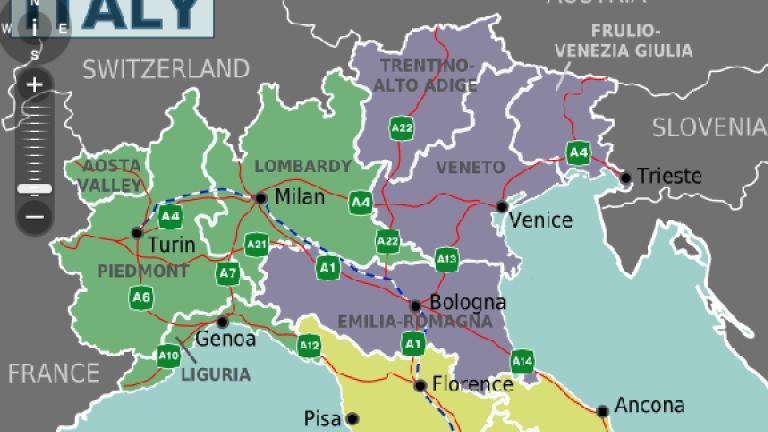 Две области в Италия заговориха за отцепване