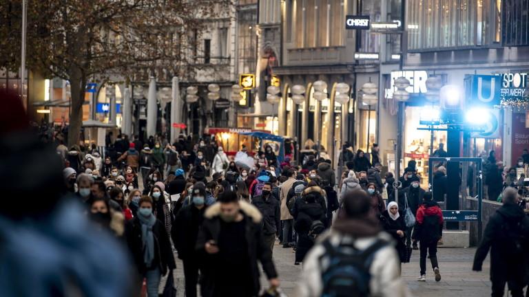 Германия регистрира рекордна смъртност в началото на пълната блокада, която