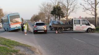 Инцидент край Разград се размина без жертви, шофьор хванат с 0,7 промила зад волана