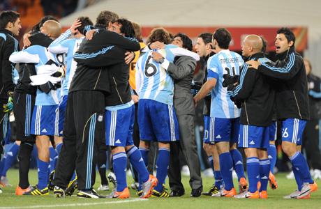 Аржентина на 1/4-финал