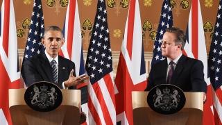 Великобритания е по-силна в ЕС, окуражи Обама Камерън