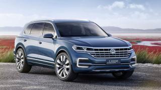 Volkswagen показа предвестник на нов голям кросоувър