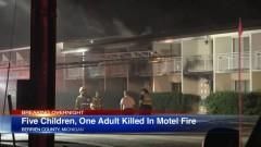 Пет деца загинаха при пожар